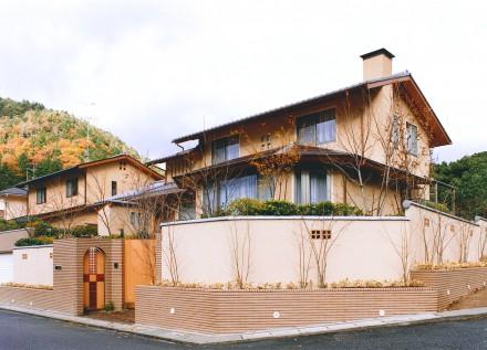 毘沙門通りの家