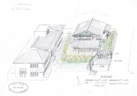 武蔵野の家:スケッチ1