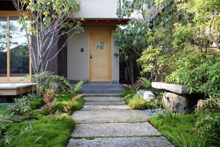 嵯峨の家:庭園