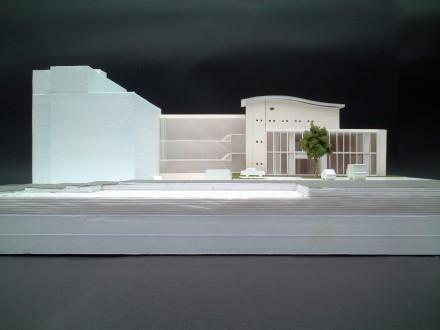 中野製薬本社ビル:スタディ模型